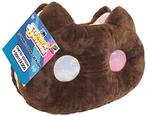 "SDCC 2018 Exclusive Steven Universe 12"" Sparkle Cookie Cat Jumbo Plushie"