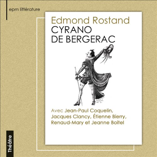Cyrano de Bergerac  audiobook cover art