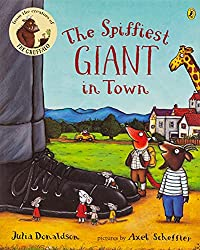 Top Ten Picture Books Chosen By My Three-Year-Old | Picture books for toddlers. The Spiffiest Giant in Town by Julia Donaldson.