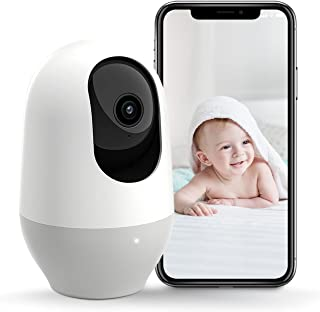 Nooie WiFi Camera 1080P, 360-degree Wireless IP Camera, Home Security Camera, Baby Pet Monitor, Motion Tracking, Super IR ...