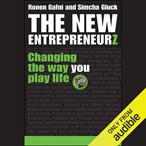 The New Entrepreneurz audiobook cover art