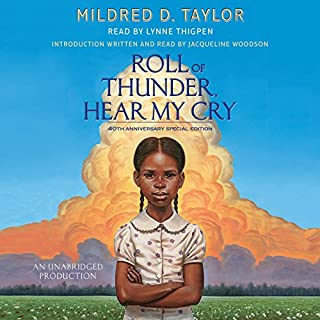 Roll of Thunder, Hear My Cry                   De :                                                                                                                                 Mildred D. Taylor                               Lu par :                                                                                                                                 Lynne Thigpen,                                                                                        Jacqueline Woodson                      Durée : 8 h et 28 min     Pas de notations     Global 0,0