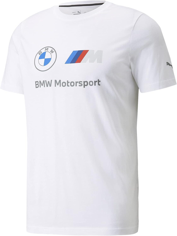 PUMA Men's Standard BMW MMS Essentials Logo Tee