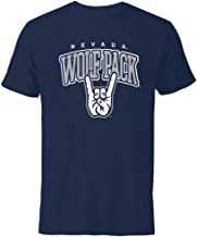 University of Nevada Wolf Pack Hand Sign Short Sleeve T-Shirt
