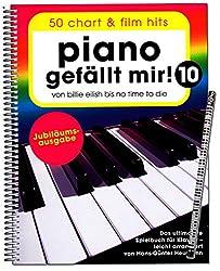 Bosworth BOE7983 9783954562541 Piano gefällt mir Volume 10 - Édition anniversaire - De Billie Eilish à No Time To Die - Le livre ultime pour piano - Bosworth BOE7983 9783954562541
