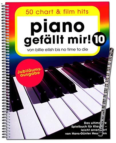 Piano gefällt mir Band 10 - Jubiläumsausgabe - Das ultimative Spielbuch für Klavier - Bosworth BOE7983 9783954562541