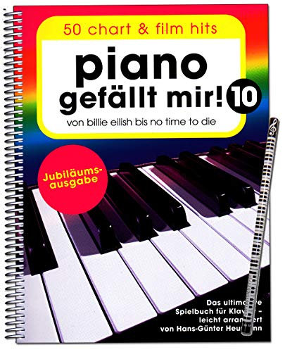 Bosworth BOE7983 9783954562541 Piano gefällt mir Volume 10 - Édition anniversaire - De Billie Eilish à No Time To Die - Le livre ultime pour piano - Bosworth BOE7983 9783954562541