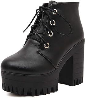 nueva llegada 4a8dd fc8b2 Amazon.es: botines plataforma - Cordones / Zapatos: Zapatos ...