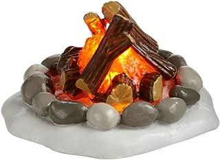 Department 56 Accessories for Villages Lit Fire Pit Accessory Figurine