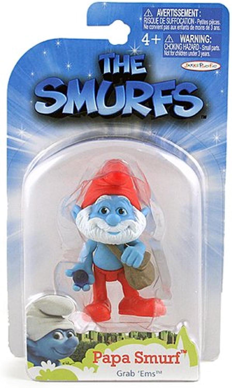 The Smurfs Grab 'Ems Figure [Papa Smurf]