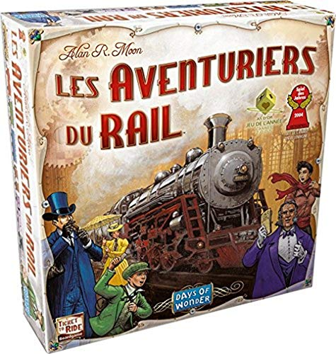 Days of Wonder Ticket to Ride - USA Niños Estrategia - Juego...
