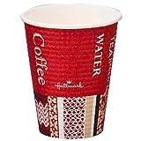 サンナップ(Sunnap) 使い捨てカップ 3色 7.9×9.34×4.97cm エンボスカップ・ホールマークカフェ 260ML C2650EC 50個入 20個セット
