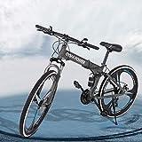 26' Road Bike 700C Bicycle for Women Men   Adult Commuting Bike 21 Speed Dual Disc Brake   Full...