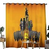 Raumteiler, Raumteiler, Raumteiler, Halloween-Tapete, Minecraft-Vorhänge für Schlafzimmer, Jungenzimmer, 157,5 x 182,9 cm