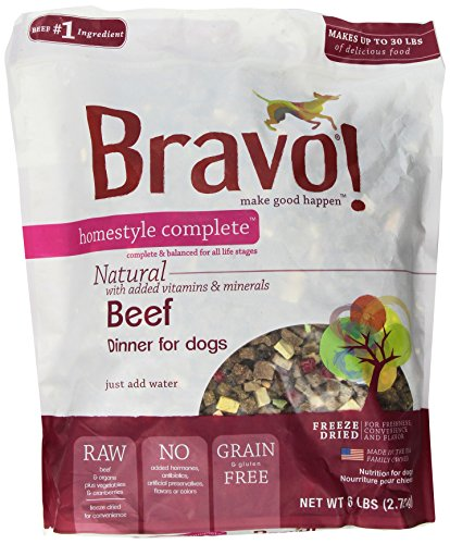 Bravo Homestyle Freeze Dried Dinner Beef Food