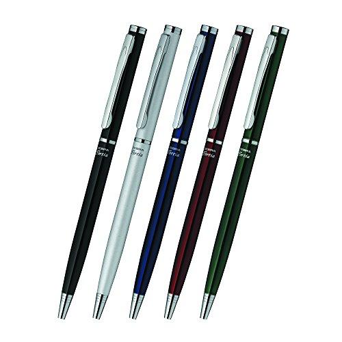 ゼブラ油性ボールペンフォルティア5000.7mm黒BA81-BK