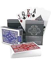 Kulor spelkort – två kortlekar av pokerkort – vattentäta spelkort i plast