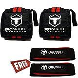 Iron Bull Strength リストラップ&リフティングストラップ コンボ リストストラップ