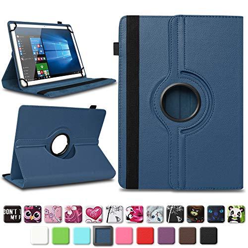 NAmobile Tasche für Vodafone Tab Prime 6/7 Tablet Hülle Schutzhülle Hülle Farbwahl Cover, Farben:Blau