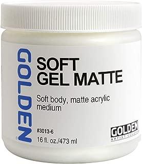 golden gel medium soft gel matte