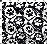 Welpe, Hund, Pfoten, Pfoten, Edel, Schwarz, Schwarz Weiß