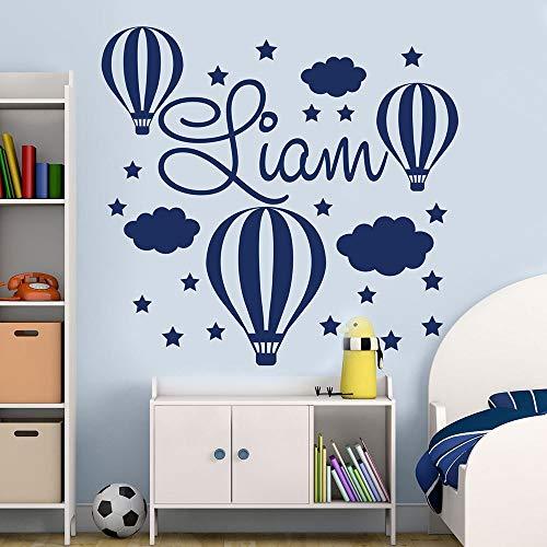 Globo etiqueta de la pared etiqueta de vinilo niños dormitorio guardería decoración para el hogar mural