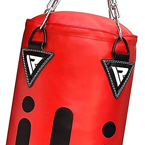 RDX Boxsack Set Gefüllt Kickboxen MMA Muay Thai Boxen mit wandhalterung Stahlkette Training Handschuhe Kampfsport Punchingsack Abbildung 2