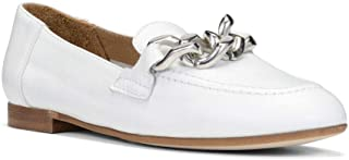 Donald Pliner Nolin Women's Suede Leather Loafer Flats White