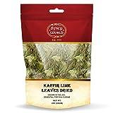 Dried Kaffir Lime Leaves 1 Oz - Essential Ingredient for Thai Cuisine - By Spicy World (Kefir)