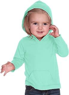 Kavio 婴幼儿 Jersey RawEdge 高低帮长袖连帽衫带小袋