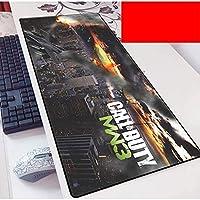 コンピュータのデスクトップのためのデューティゲームマウスパッドキーボードマットの拡張大型マウスマットコール PC.ノートパソコンマウスパッド(カラー:E、サイズ:900x400x3mm)