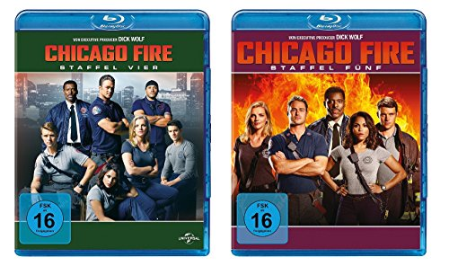 Chicago Fire - Staffel 4+5 [Blu-ray]