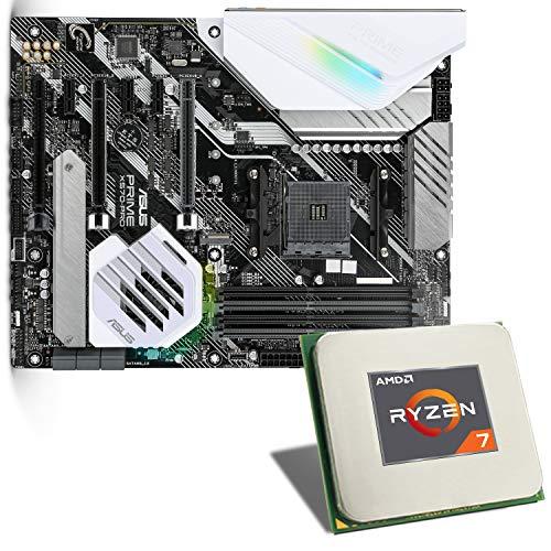 AMD Ryzen 7 3800X / ASUS Prime X570-PRO Mainboard Bundle   CSL PC Aufrüstkit   AMD Ryzen 7 3800X 8X 3900 MHz, GigLAN, 7.1 Sound, USB 3.1   Aufrüstset   PC Tuning Kit