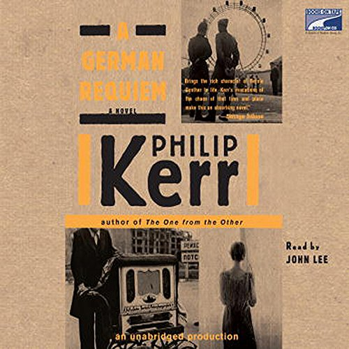A German Requiem                   By:                                                                                                                                 Philip Kerr                               Narrated by:                                                                                                                                 John Lee                      Length: 10 hrs and 42 mins     606 ratings     Overall 4.5