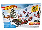Hot Wheels FYN46 - Adventskalender 2019 mit 8 Autos und