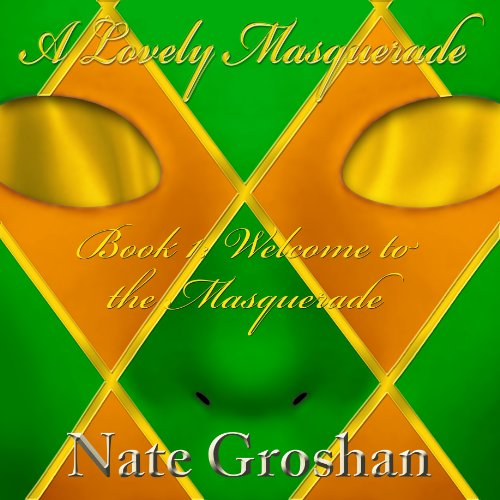 A Lovely Masquerade audiobook cover art