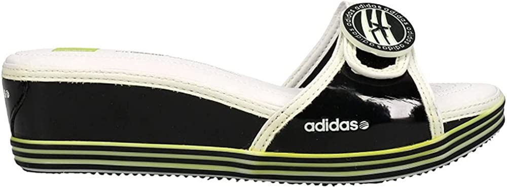 adidas Womens Kelly Slide Sandals Sandals Casual - Black,White