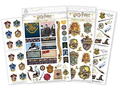 Paper House Productions SET-0007 Harry Potter Planner Bundle-Includes Weekly Kit, Decorative Stickers