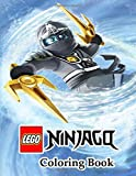 LEGO NINJAGO Coloring Book: Great Quality Coloring Book. Nice Book Cover and 50+ LEGO NINJAGO for Kids and All Fans With Cool Images.