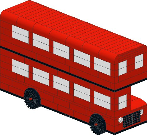 Lego - London Red RouteMaster Bus - TDS Models (English Edition)