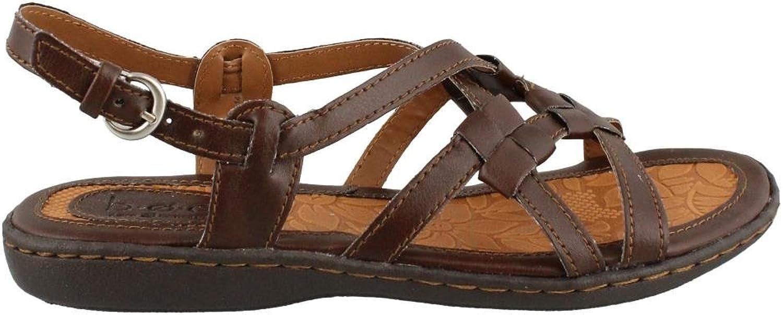 Women's B.O.C., Kesia Low Heel Sandals BROWN 8 M