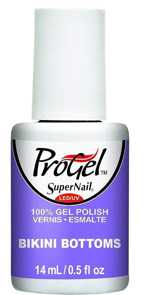 労苦アシスト慣れているSuperNail ProGel Gel Polish - Bikini Bottoms - 0.5oz / 14ml