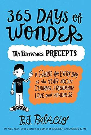 365 Days of Wonder (Wonder, book 2) by R J Palacio