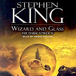 Wizard and Glass audiobook cover art