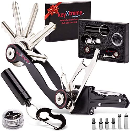 Smart Key Holder Organizer up to 36 standard keys Compact Key Organizer with improved Anti Loosening product image