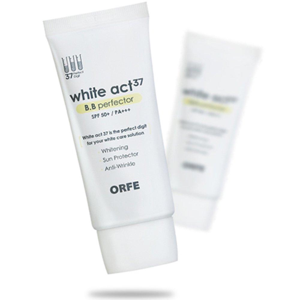 ORFEホワイトAct37 B.B Perfector、すべての肌タイプ、50ml [並行輸入品]