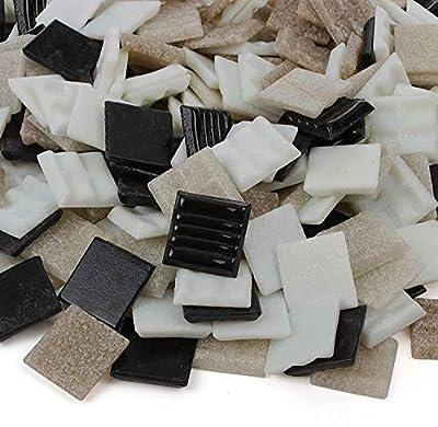 Milltown Merchants? 3/4 Inch (20mm) Venetian Mosaic Tile - Bulk Blend Mosaic Tiles - Tile Assortment For Backsplash, Murals, and Mosaics
