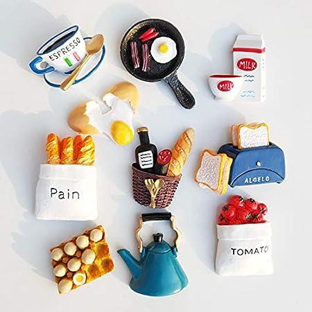 Food refrigerator magnet Useful milk fridge magnet gift