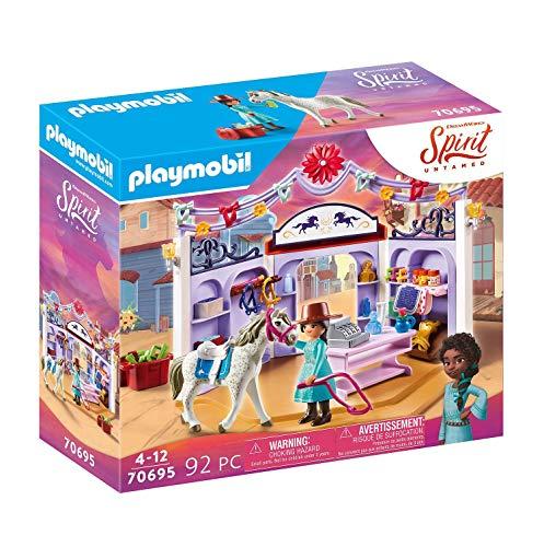 PLAYMOBIL DreamWorks Spirit Untamed 70695 Miradero Tienda Hípica, A Partir de 4 años