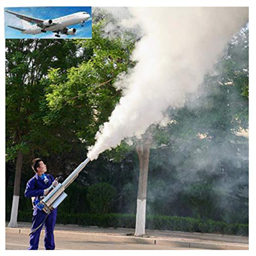 HAHALE 16L ULV Thermal Sprayer Fogger Machine Disinfection Mist Machine for Hospitals Home Ultra Capacity Spray Machine Fight Double Tube